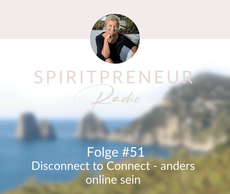 Spiritpreneur #51: Disconnect to Connect