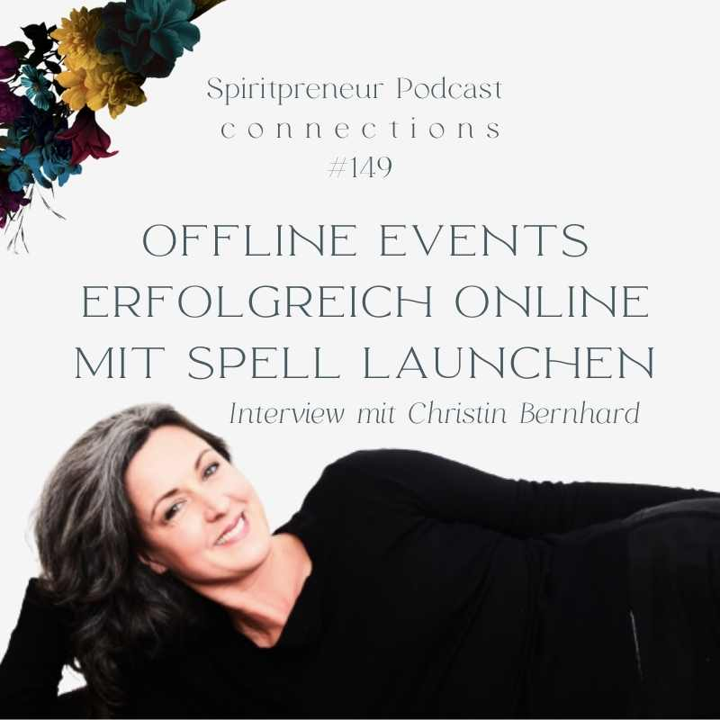 SpiritPreneur #149: Interview mit Christin Bernhardt